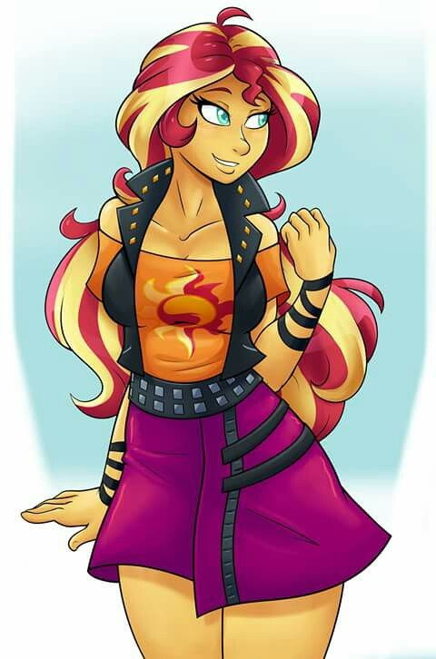 sexy sunset shimmer
