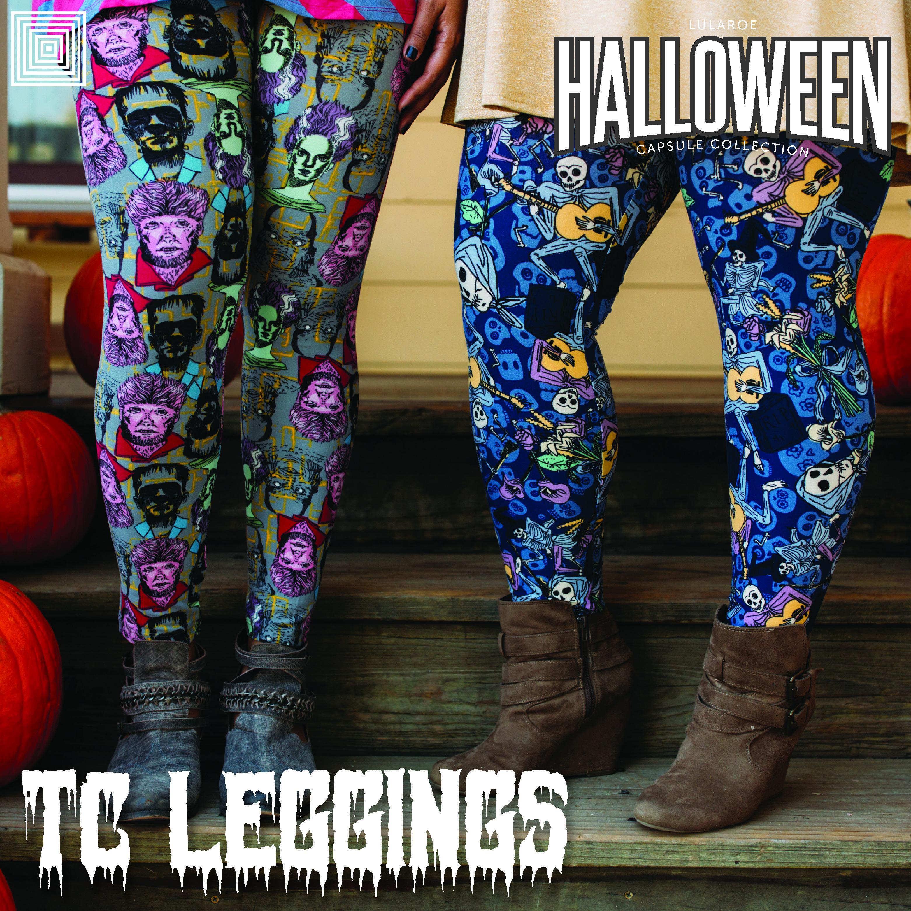 LuLaRoe Halloween Capsule Collection 2017 Tall & Curvy TC Leggings ...