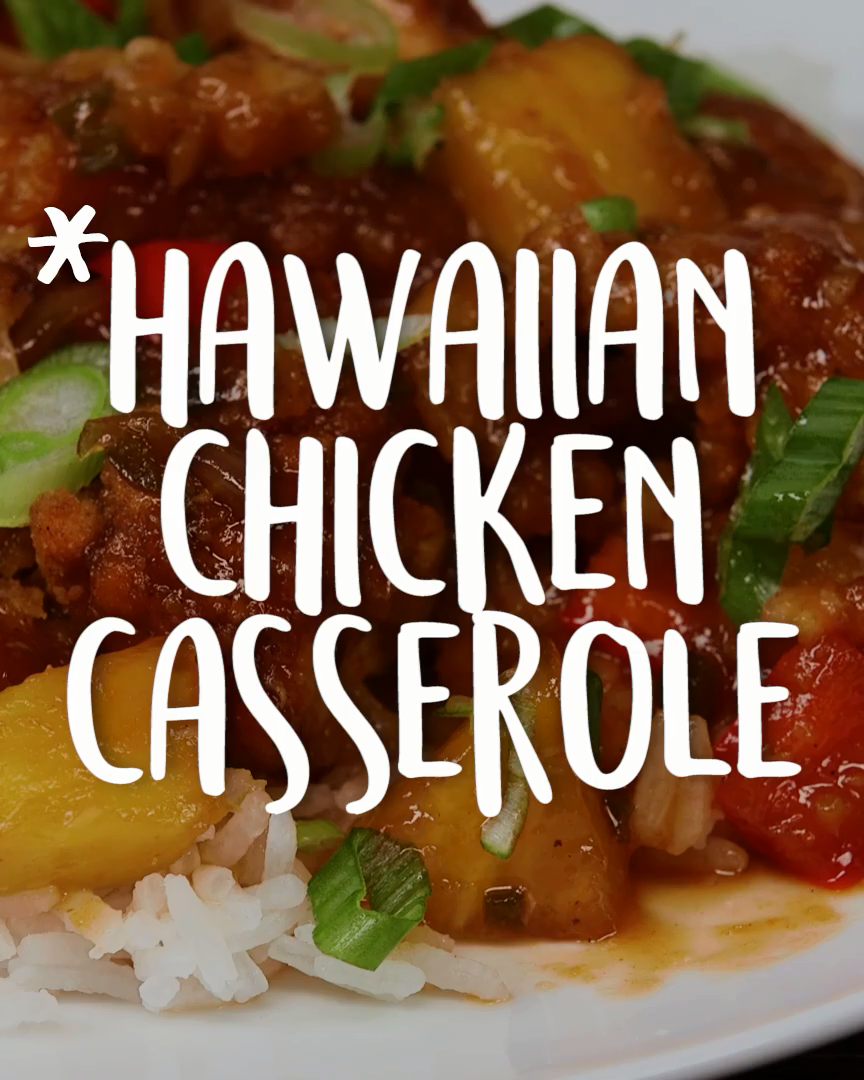 Hawaiian #Chicken #Casserole #hawaiianfoodrecipes