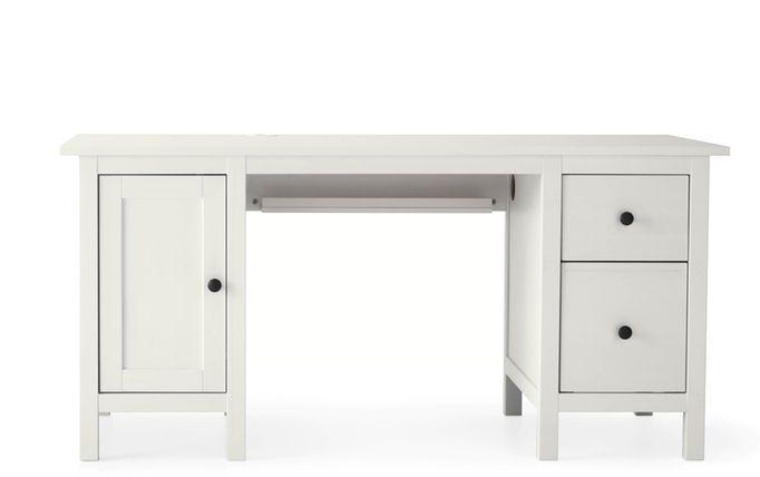 wit ikea hemnes bureau - Ikea Hemnes Bureau