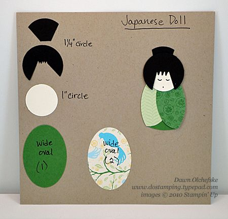 Japan-Doll-Punch-List cards Pinterest - punch list