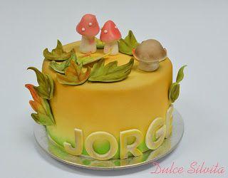 Dulce Silvita: Tarta Otoño - Autumn Cake