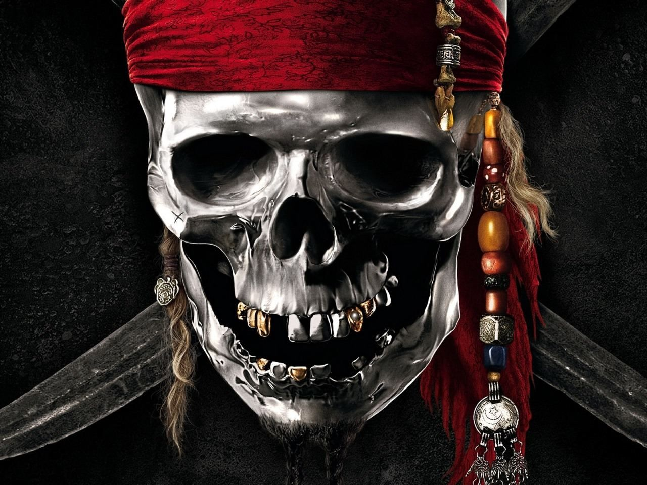 Pirates Of The Caribbean Skull Wallpaper Desktop Jgv In