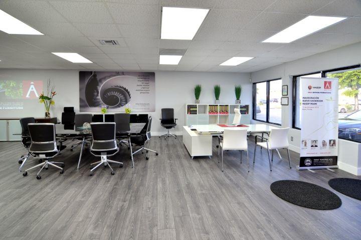 actiu offices miami florida retail design blog sales office