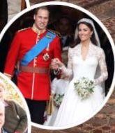 Happy 8th Wedding anniversary to Prince William & Princess Kate