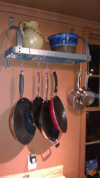 Amazon Enclume MPB 06 RACK IT UP Bookshelf Pot Rack Kitchen