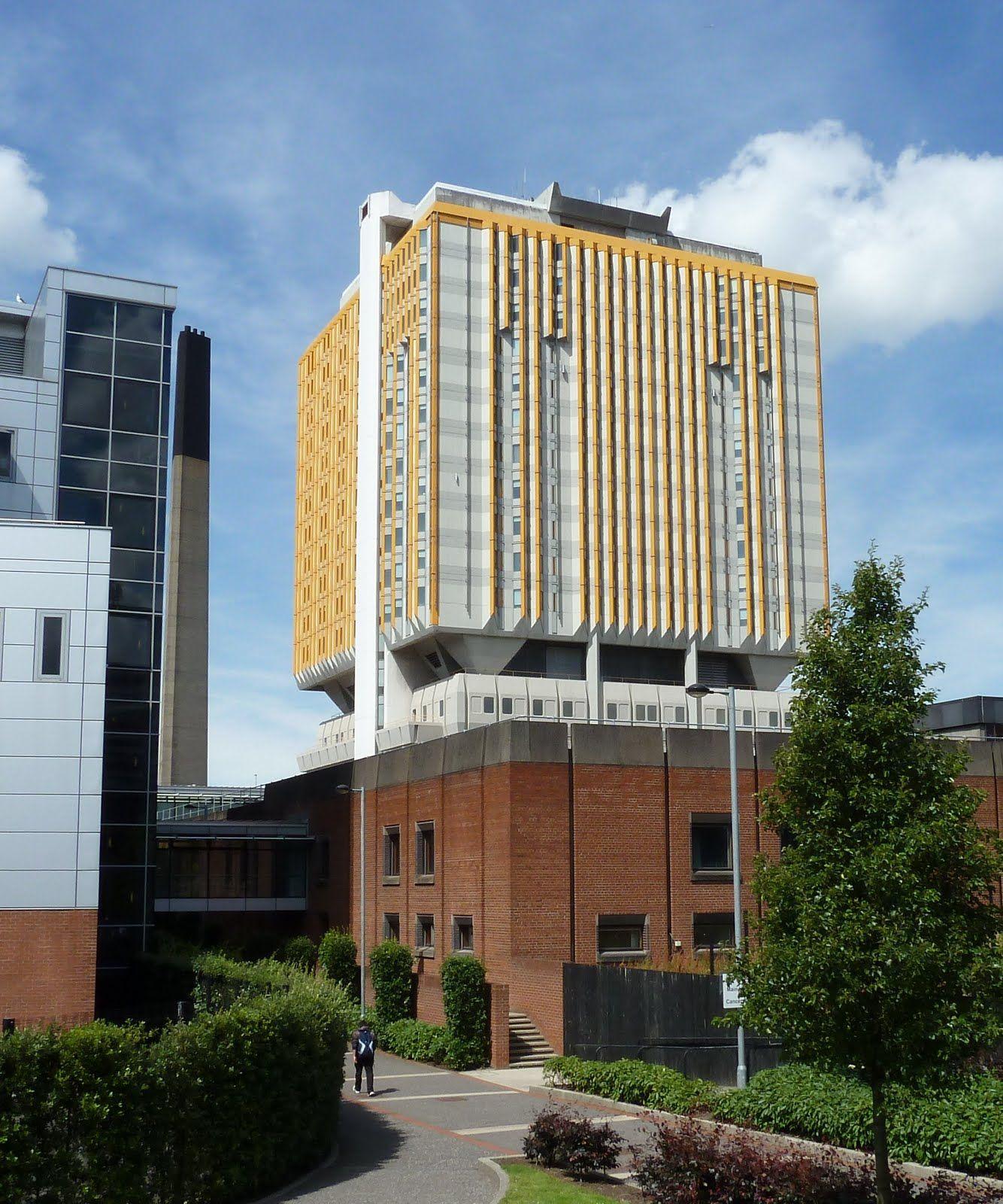 Belfast City Hospital Tower.