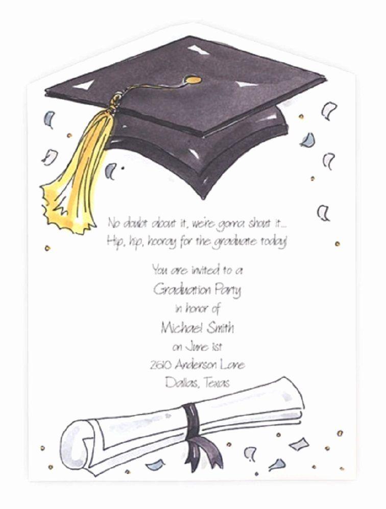 Graduation Ceremony Invitation Wording Unique Printable Graduation Party Invitation Wording Graduation Invitation Cards Graduation Party Invitations Templates