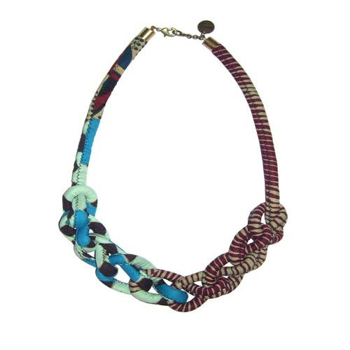 Toubab Paris Knotted Chain Necklace