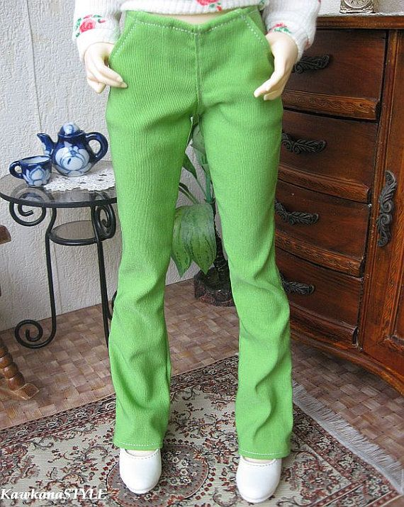 Kawkana  Pants with front pockets for MSD MNF other 1/4 by kawkana, $16.00
