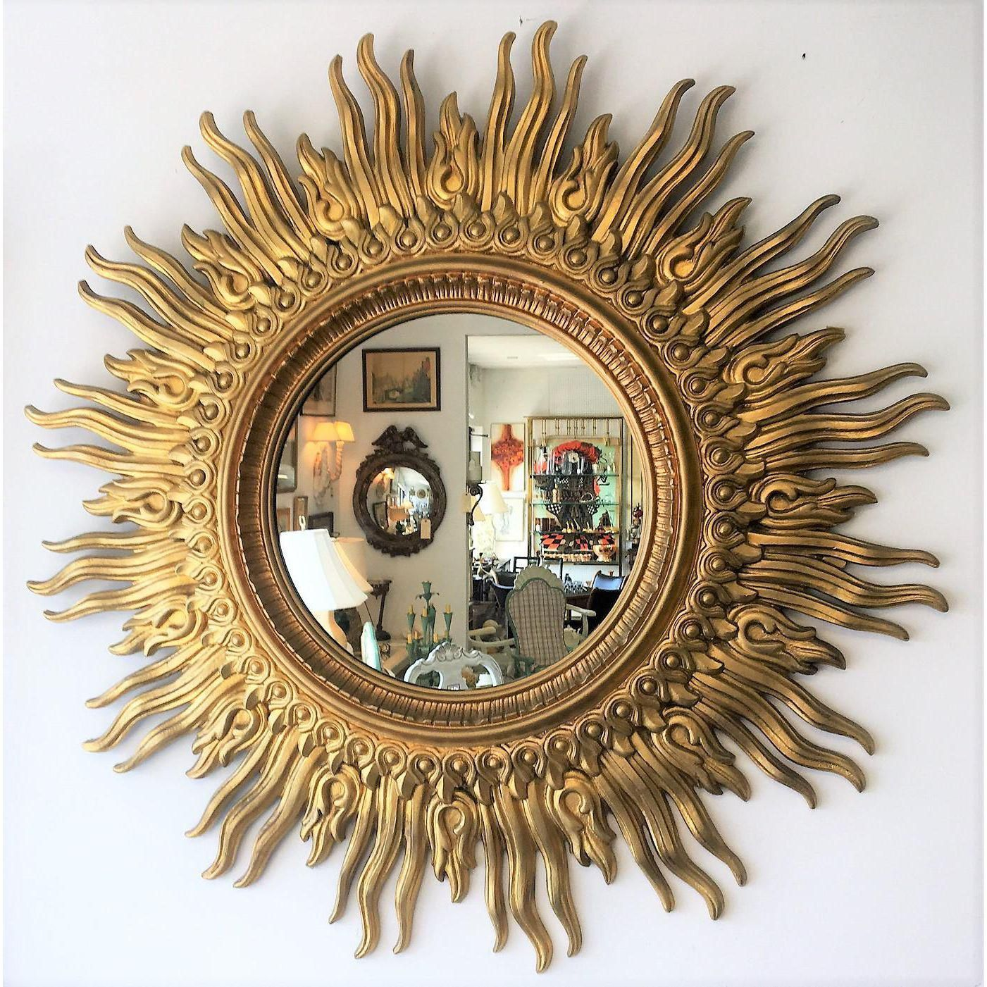 Vintage Sunburst Mirror | Sunburst mirror, Sunburst, Home ...