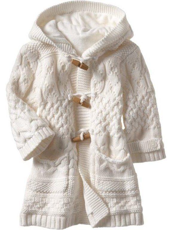 Chalecos de lana para niña - Imagui  d7da6a997053