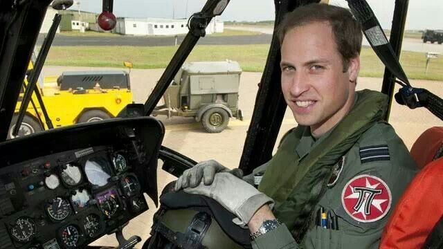 Prince William leaving The Milatary.