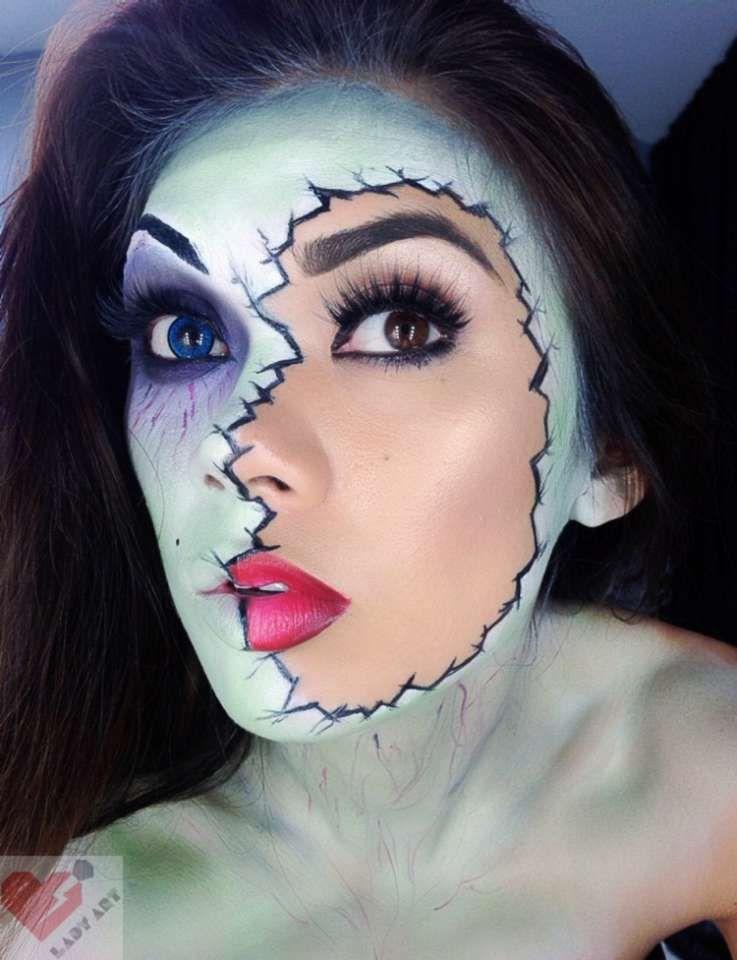 Vous voulez foutre la trouille à vos potes pour Halloween ? On a trouvé 18  idées de maquillage absolument terrifiantes