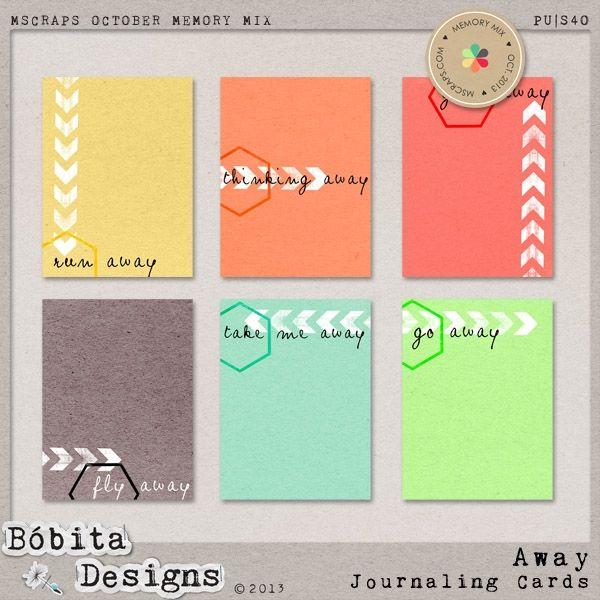 Away Journal Card Set