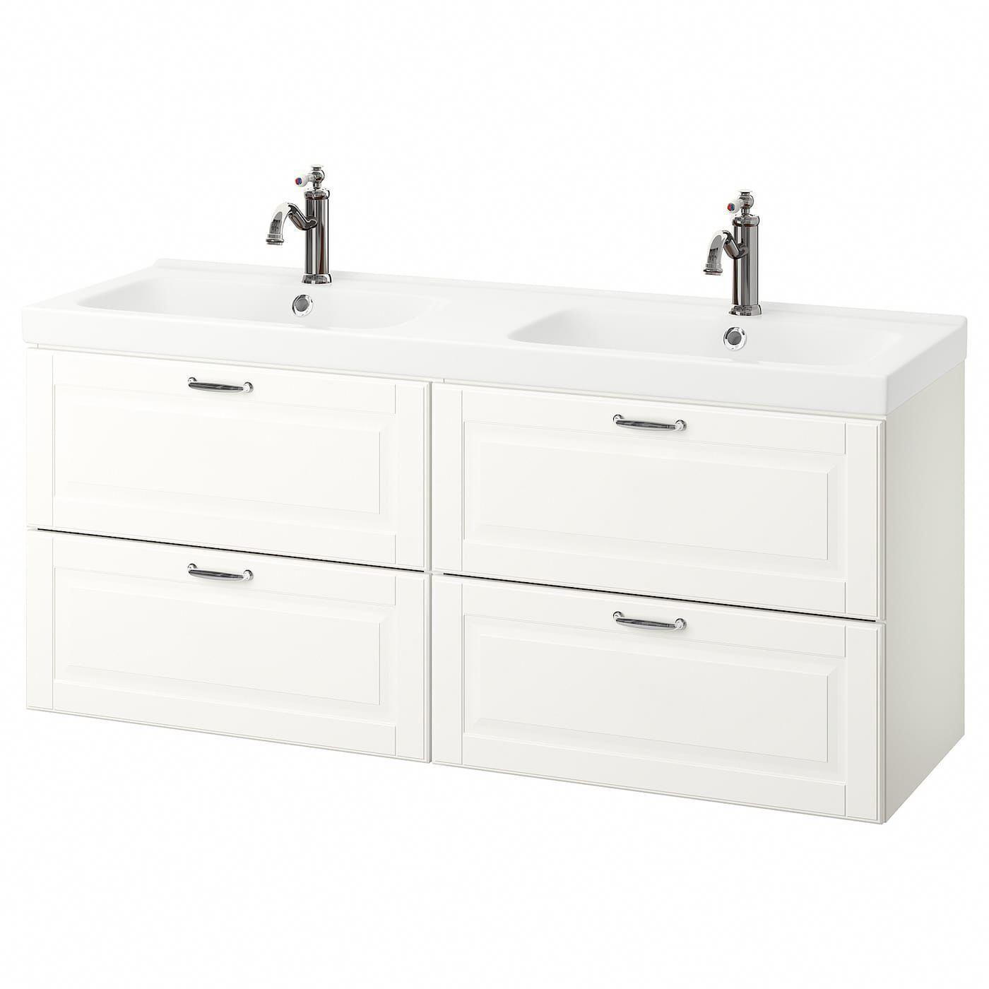 Ikea Godmorgon Odensvik Bathroom Vanity Kasjon White Hamnskar Bathroomcabinets Sink Cabinet Ikea Godmorgon Discount Bathroom Vanities