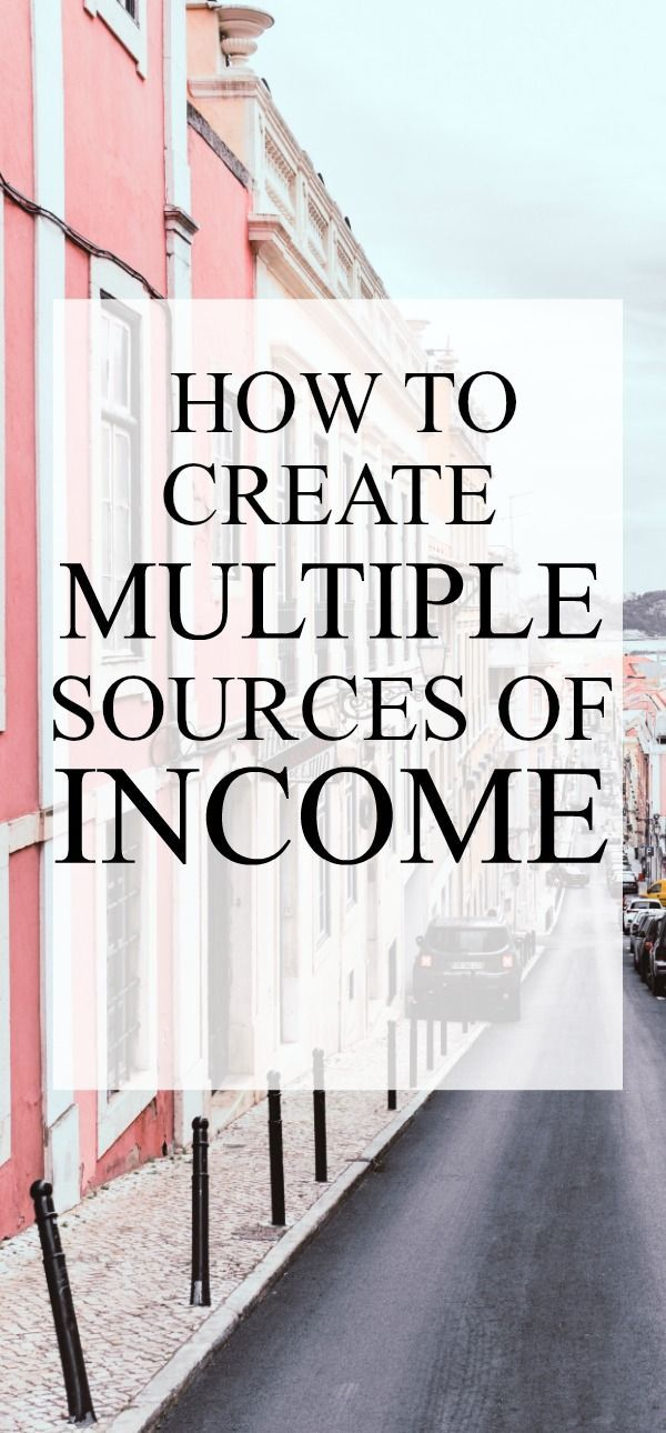 How To Create Multiple Streams Of Income And Work At Home Make Money Online Makemoneyonline Workfromhome Makemoney