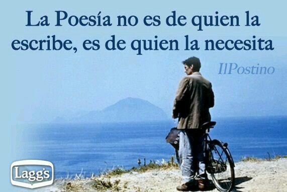 El Cartero Neruda Frases Poesía Y Poemas