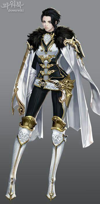 Female Admiral Fantasy Art