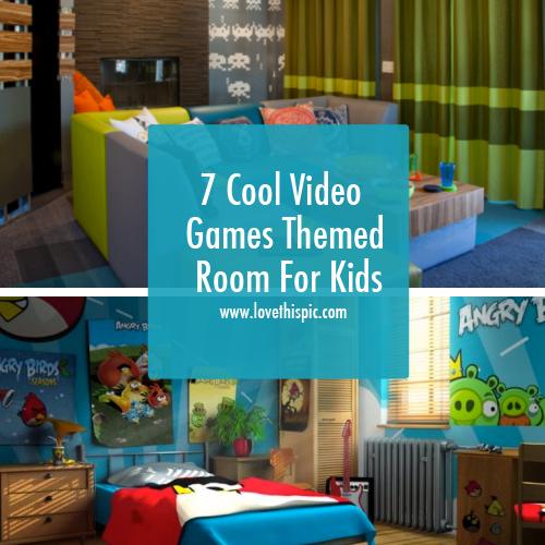 Bedroom Designing Games 7 Cool Video Games Themed Room For Kids  Game Room Design Video