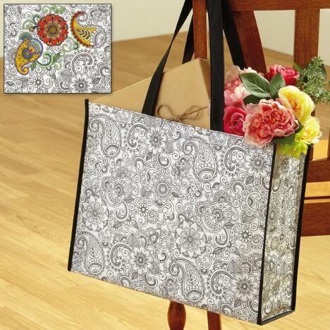 Doodle Art Tote Bag $3.98