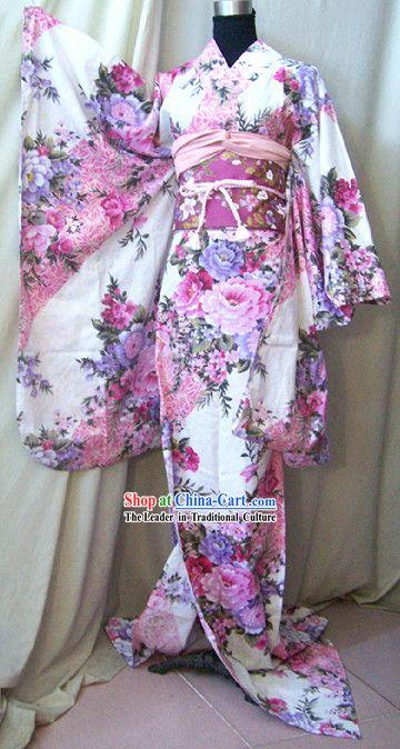 Authentic Japanese Kimono Robe Complete Set for Women         Norfolk
