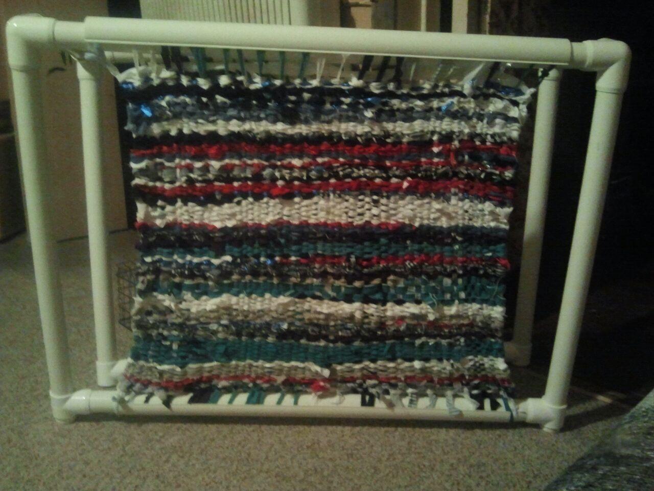 rag rug frame instructions