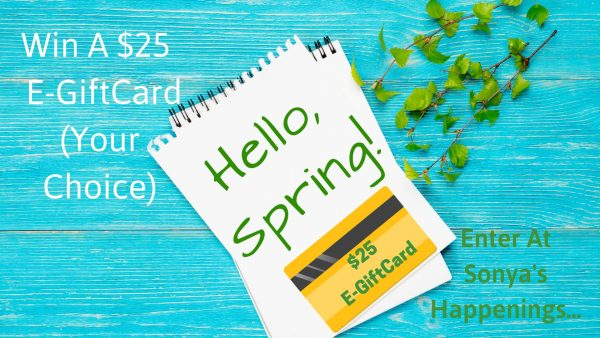Enter To Win A 25 E Giftcard Your Choice Giveaway Ends 3 31 Springhop Gift Card Giveaway Egift Card