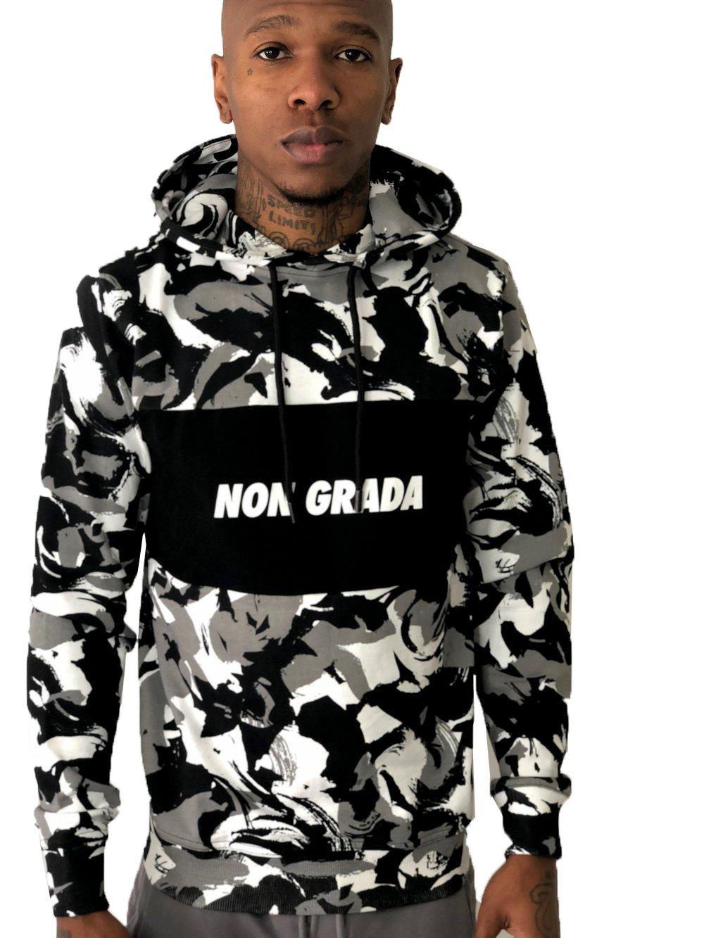 Non grada camo hoodie Good condition, never worn Depop