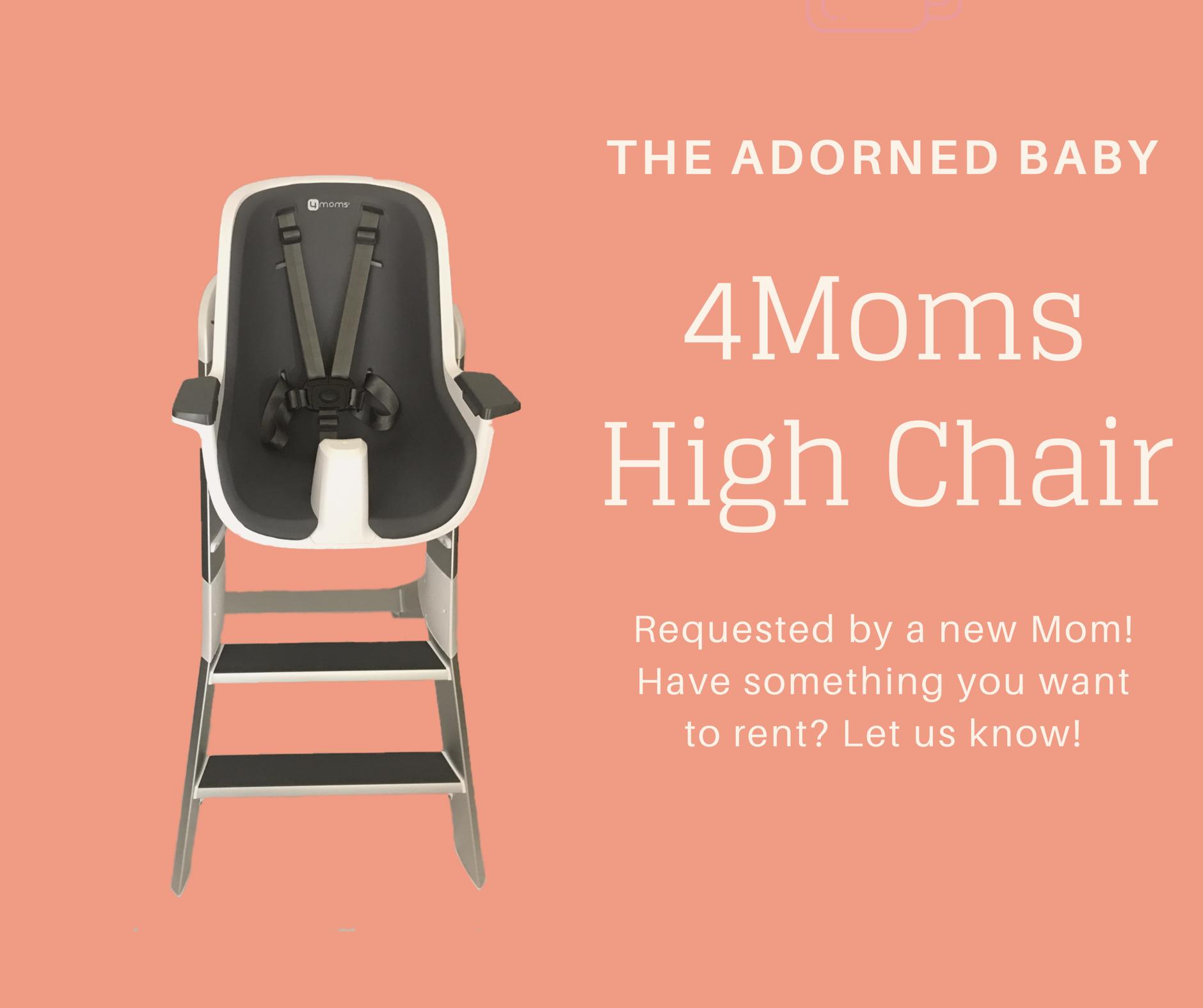 4moms High Chair High Chair 4moms Chair
