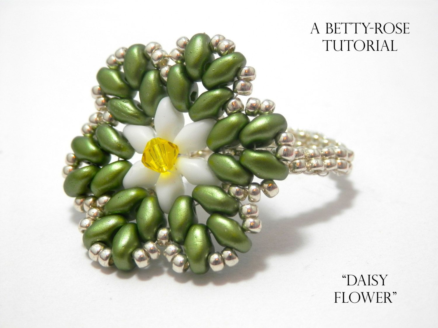 Tutorial for daisy flower ring with por bettyrosetutorials en etsy tutorial for daisy flower ring with por bettyrosetutorials en etsy izmirmasajfo