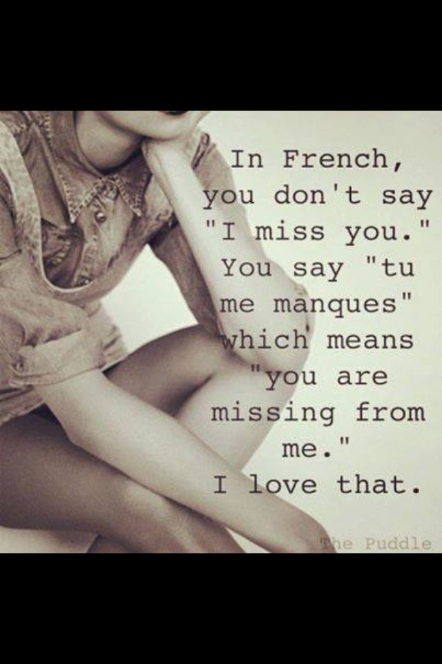 You are missing from me ❤️
