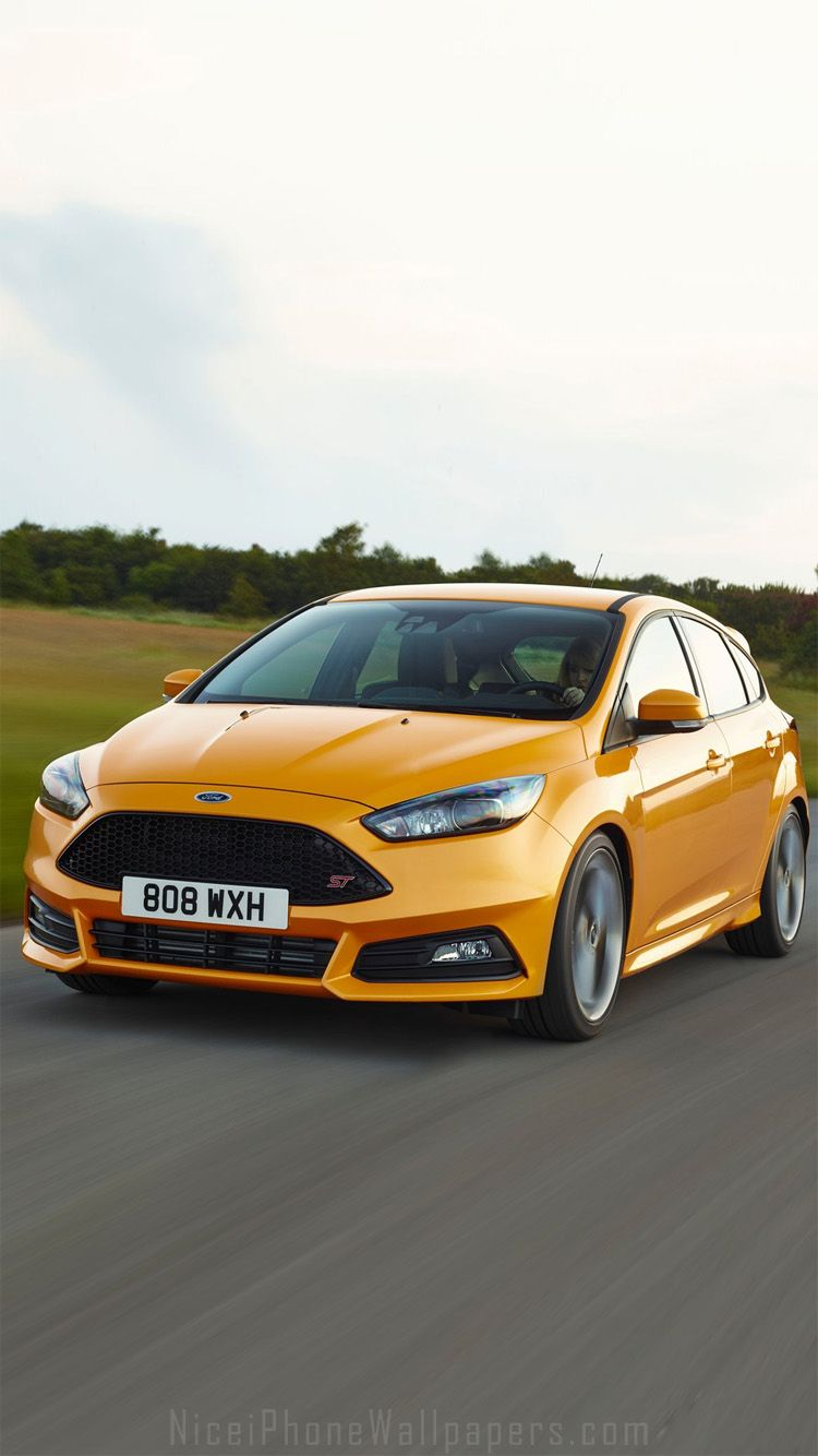 2015 Ford Focus St Iphone 6 6 Plus Wallpaper Cars Iphone