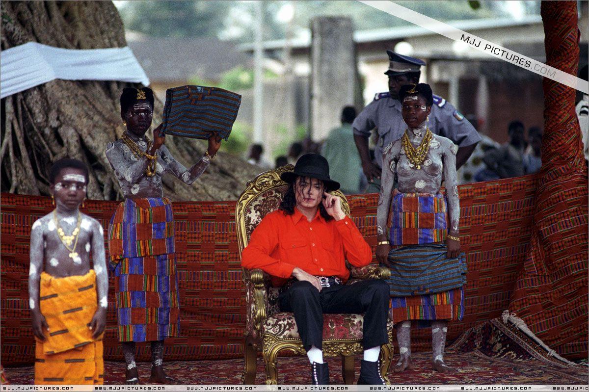 1992 - 2016: Retour sur la visite de Michael Jackson, prince d ...