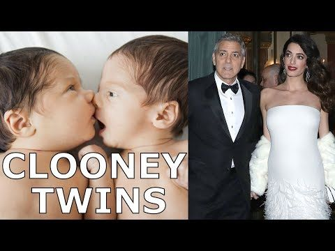 1 George And Amal Clooney Welcome Birth Of Twins Ella And Alexander