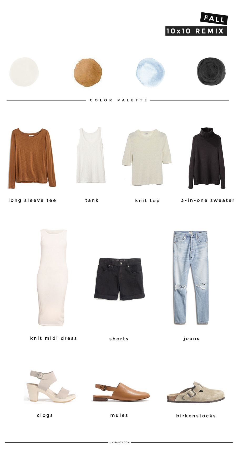 Fall Wardrobe Challenge 10 Pieces 10 Outfits 10 Days Fall Capsule Wardrobe Summer Capsule Wardrobe Fall Wardrobe