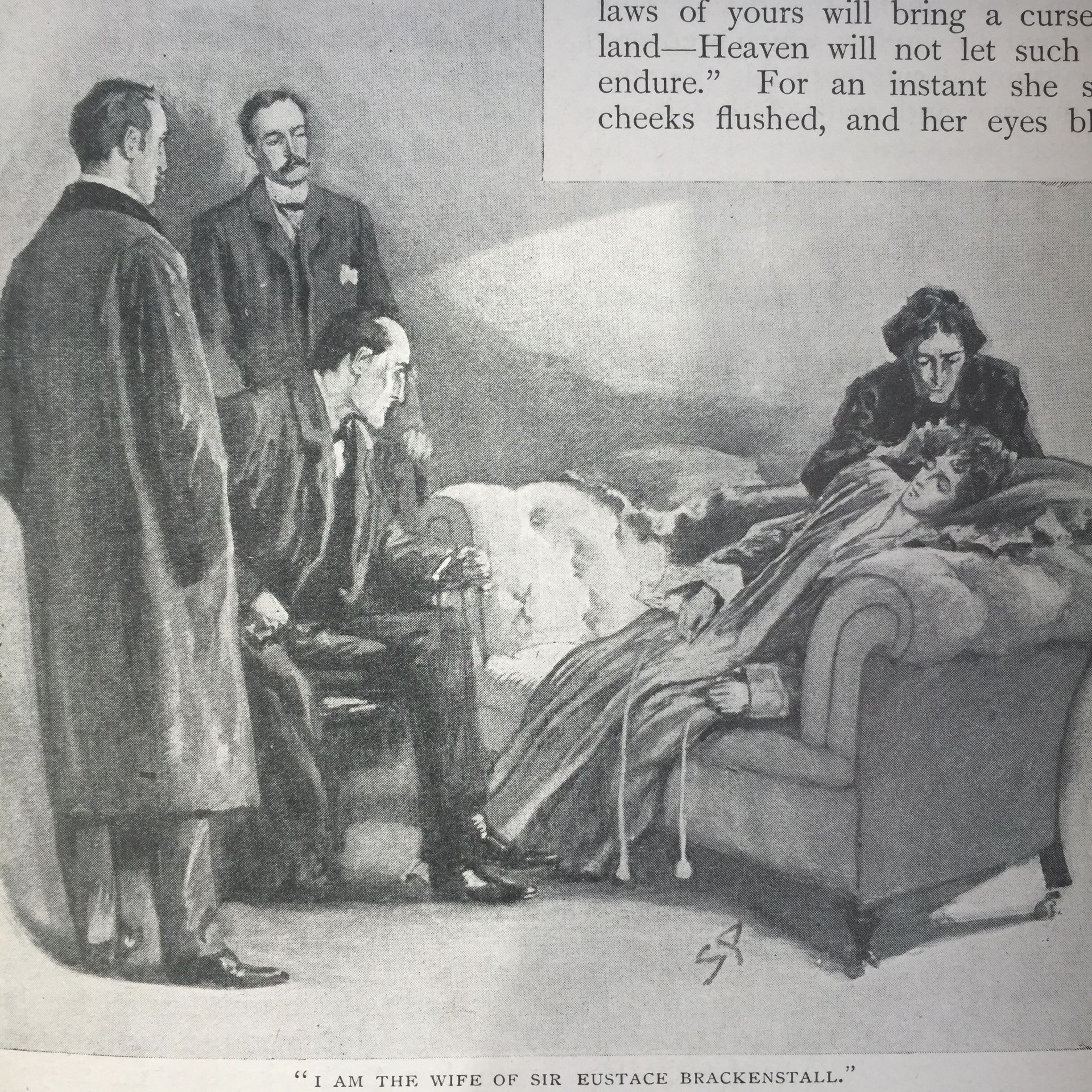 The Abbey Grange Sidney Paget The Strand Magazine