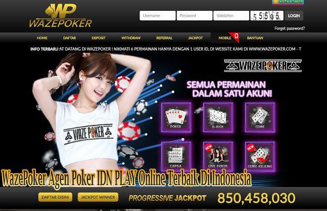 Wazepoker Agen Poker Idn Play Online Terbaik Di Indonesia Poker Website Indonesia
