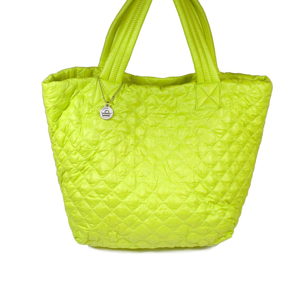 I love the Big Buddha Puffy Quilted Tote from LittleBlackBag