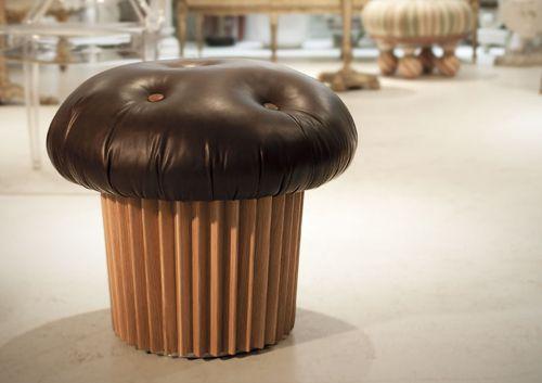 Süße Sitzgelegenheit: Muffin Pouffe von Matteo Bianchi