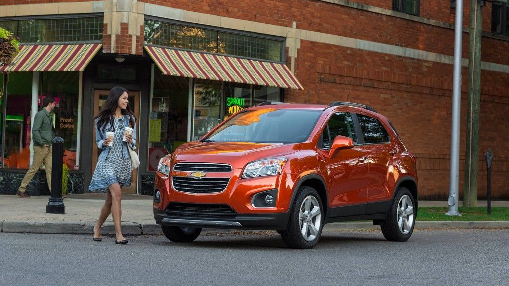 2016 Trax Small Suv Exterior Pictures Chevrolet Trax Chevrolet