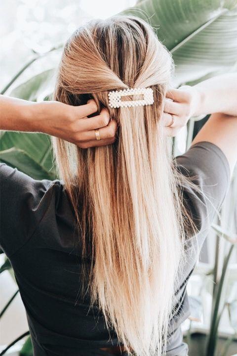 Pin Von Lisa Otto Auf Haare Frisuren Flechtfrisuren Haarspangen