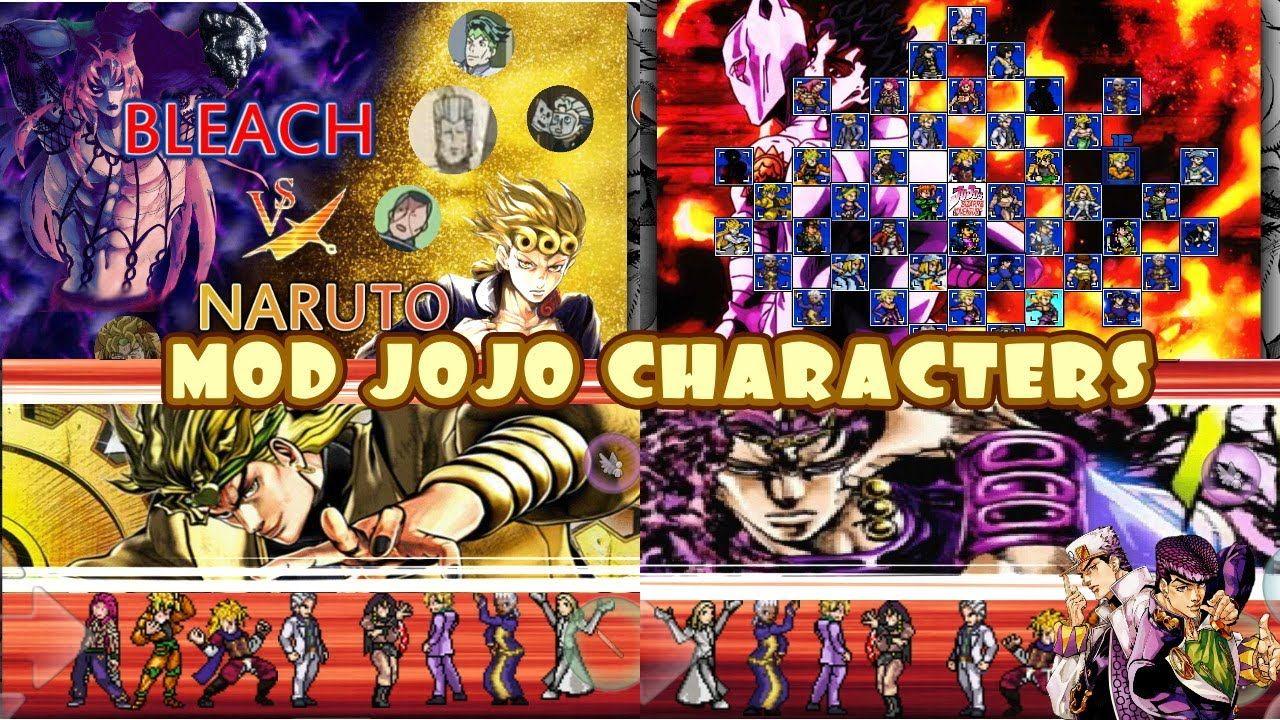 BLEACH VS NARUTO 3.3 MOD JoJo Characters MUGEN ANDROID ...