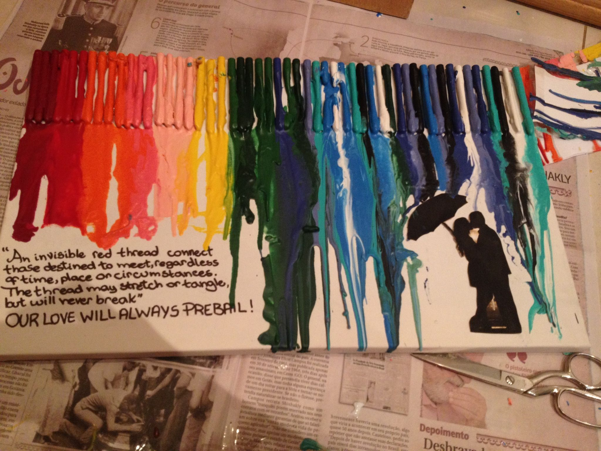 How to Make Melted Crayon Art (With Details) Recipe