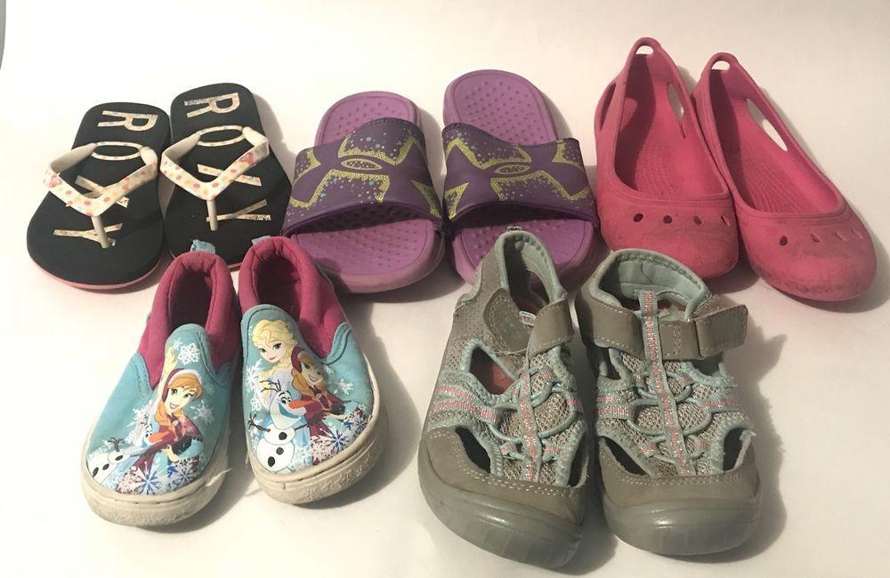 40a063079d47 Under Armour Crocs Roxy Oshkosh Bgosh Roxy Girls Shoes Slippers Lot Of 5  Pairs  fashion  clothing  shoes  accessories  babytoddlerclothing   babyshoes (ebay ...