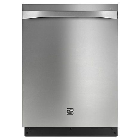 Kenmore Elite 14833 24 Built In Dishwasher Stainless Steel