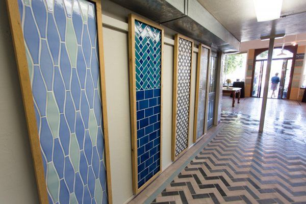 Wave Tile Pattern Design Installation Stories Our San Jose Showroom Remodel Fireclay And Inspiration Blog