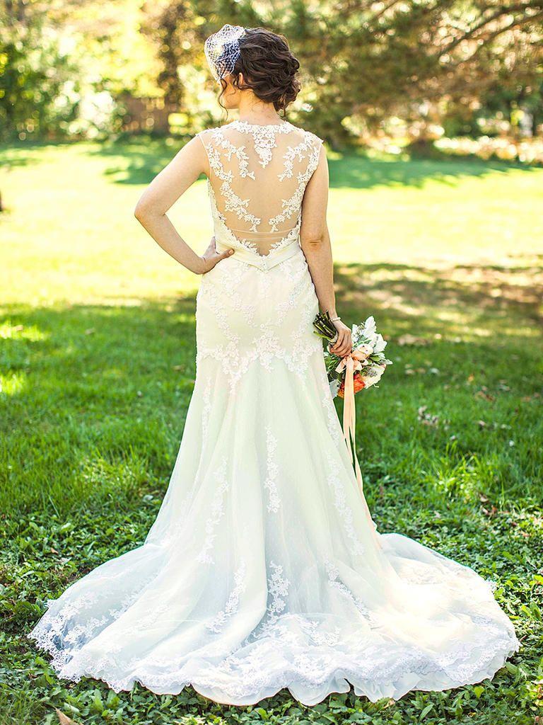 Vintage inspired lace wedding dresses   Vintage Wedding Dresses to Inspire Your Bridal Style  Wedding