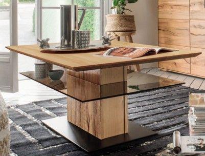 couchtisch #wohnzimmer #massivholz #glas #modern #ausgefallen - möbel wohnzimmer modern