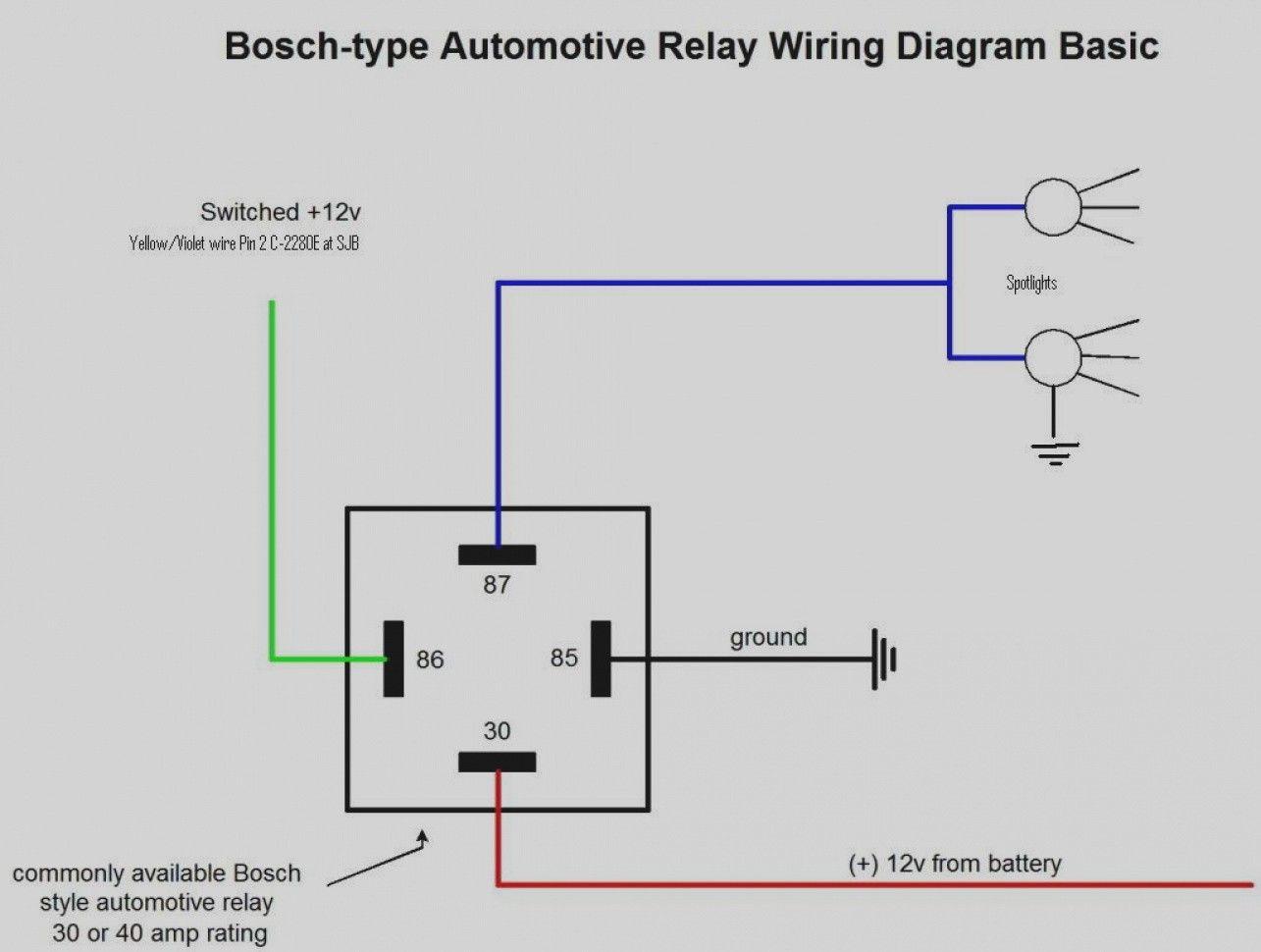12vdc Relay Wiring Diagram 4 Pin Relay Wiring Diagram Horn Wiring Diagram Electrical Diagram Relay